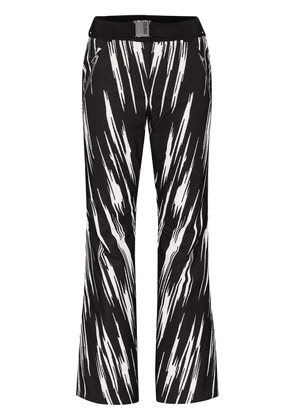 Colmar graphic print ski trousers - Black