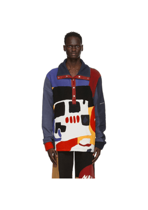 Bethany Williams Multicolor The Magpie Project Edition Recycled Fleece Sweatshirt