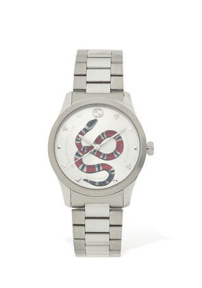 38mm G-timeless Red Snake Dial Watch