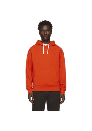 Saturdays NYC Orange Ditch Slash Hoodie