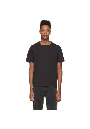 Champion Reverse Weave Black Basic T-Shirt