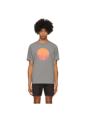 Saturdays NYC Grey Sunrise Sunset T-Shirt