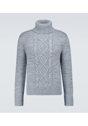 Liam cable knitted sweater