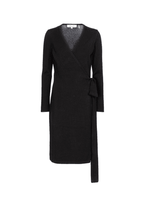 Linda wool and cashmere midi dress
