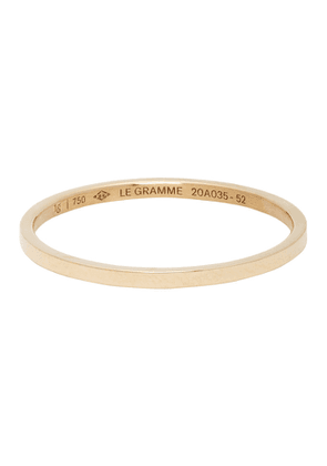 Le Gramme Gold Polished Le 1 Grammes Wedding Ring