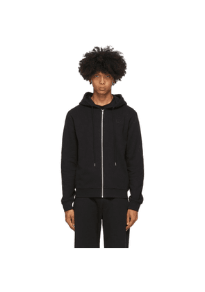 McQ Alexander McQueen Black McQ Swallow Clean Zip-Up Hoodie