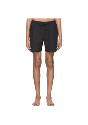 Saturdays NYC Black Timothy Solid Swim Shorts