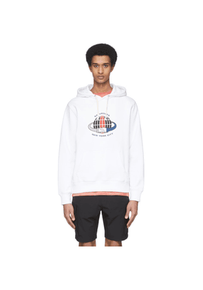 Saturdays NYC White Ditch Handshake Hoodie