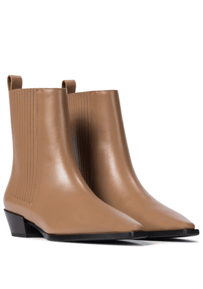 Belinda leather ankle boots