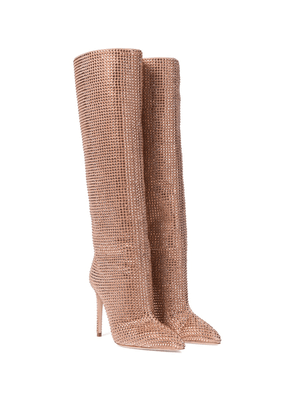 Holly suede knee-high boots