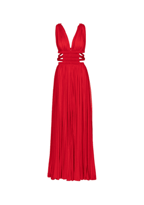 Alaïa Edition 2004 pleated jersey gown