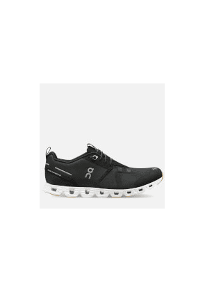 ON Women's Cloud Terry Running Trainers - Black/White - UK 4