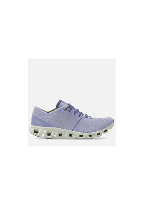 ON Women's Cloud X Running Trainers - Lavender/Ice - UK 4