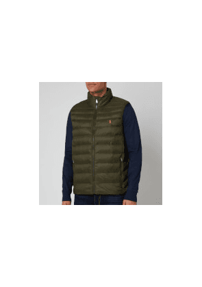 Polo Ralph Lauren Men's Recycled Nylon Terra Vest - Dark Loden - S