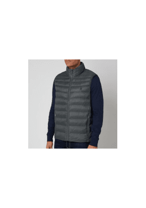 Polo Ralph Lauren Men's Recycled Nylon Terra Vest - Charcoal Grey - S