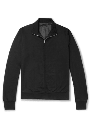 THE ROW - Howard Cotton and Cashmere-Blend Zip-Up Jacket - Men - Black