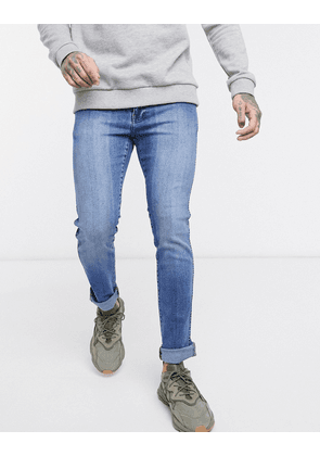 Dr Denim Snap skinny jeans-Blue