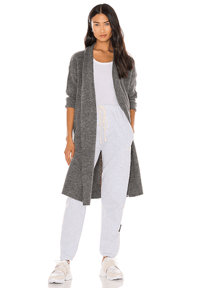 One Grey Day Winston Duster in Charcoal. Size S, M, L.