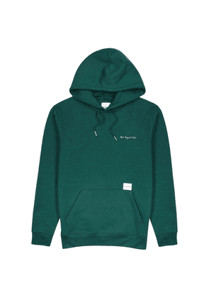 Mki Miyuki Zoku Green Hooded Cotton-blend Sweatshirt