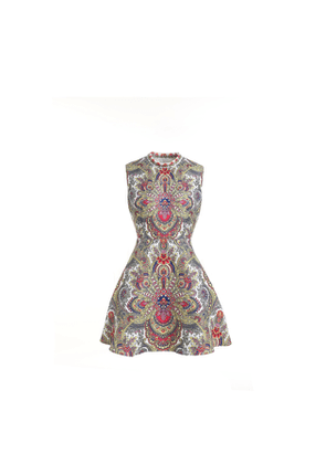 Comino Couture London The Ornate Bauble Sleeveless Skater Dress