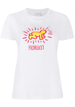 Fiorucci x Keith Haring slim-fit T-shirt - White