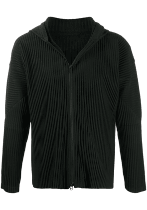 Homme Plissé Issey Miyake ribbed lightweight jacket - Black