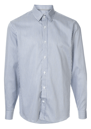 Gieves & Hawkes striped pattern shirt - Blue