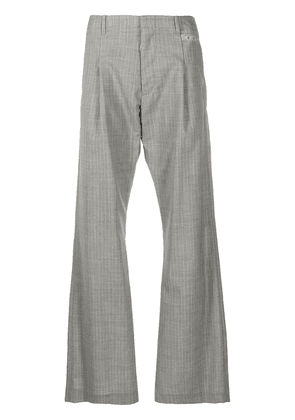 Off-White checked tailored trousers - Grey