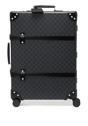 Gucci medium Globetrotter GG suitcase - Black