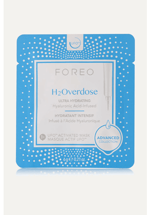Foreo - H2overdose Ufo Ultra Hydrating Face Mask For Dry Skin X 6 - Colorless