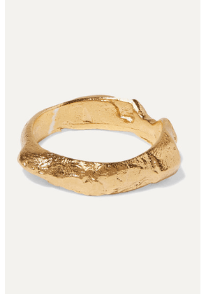 Alighieri - The Edge Of The Abyss Gold-plated Ring