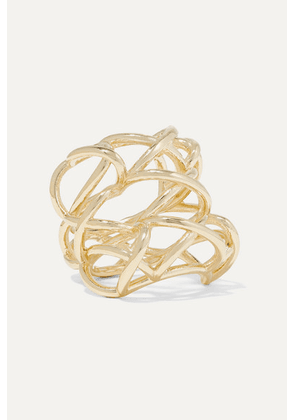 Jennifer Fisher - Lace Up Gold-plated Ring
