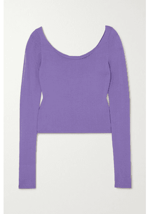 Georgia Alice - Pearl Knitted Top - Lilac
