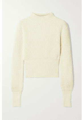 APIECE APART - Dios Ribbed Cotton And Cashmere-blend Sweater - Cream