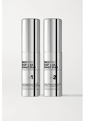 BIOEFFECT - Egf + 2a Daily Duo, 2 X 15ml - Colorless