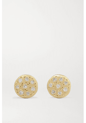 Brooke Gregson - Mini Mars 14-karat Gold Diamond Earrings