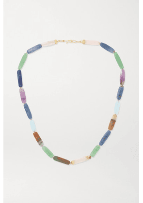 Brooke Gregson - 14-karat Gold Multi-stone Necklace - Blue