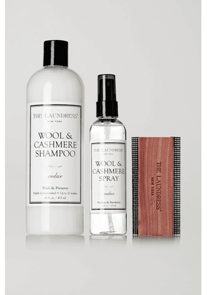 The Laundress - Wool And Cashmere Care Set - Colorless