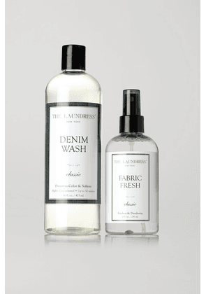 The Laundress - Denim Care Set - Colorless