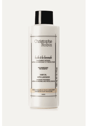 Christophe Robin - Moisturizing Hair Oil With Lavender, 150ml - Colorless