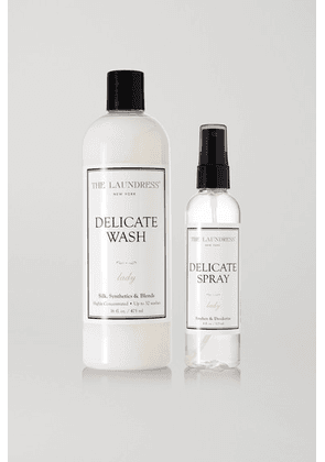 The Laundress - Silk And Delicate Care Set - Colorless