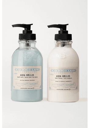C.O. Bigelow - Iconic Collection Hand Wash And Body Lotion Set - Aqua Mellis - Colorless
