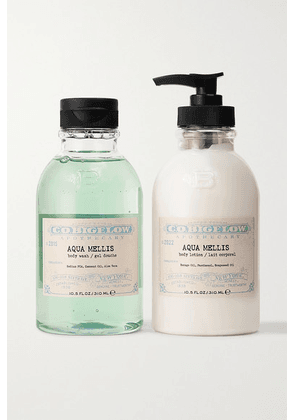 C.O. Bigelow - Iconic Collection Body Wash And Lotion Set - Aqua Mellis - Colorless