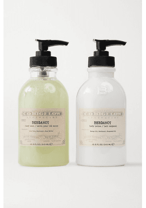C.O. Bigelow - Iconic Collection Hand Wash And Body Lotion Set - Bergamot - Colorless