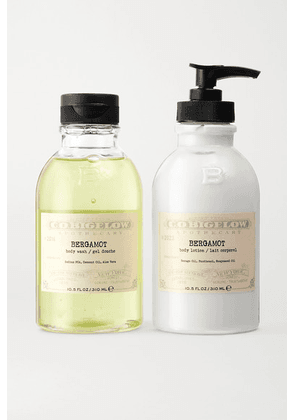 C.O. Bigelow - Iconic Collection Body Wash And Lotion Set - Bergamot - Colorless