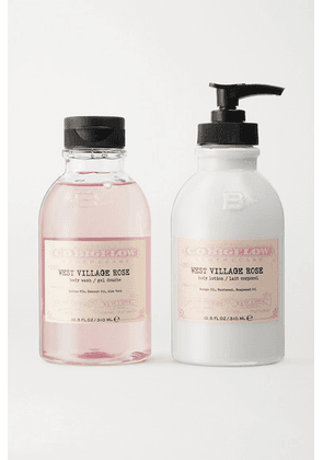 C.O. Bigelow - Iconic Collection Body Wash And Lotion Set - West Village Rose - Colorless