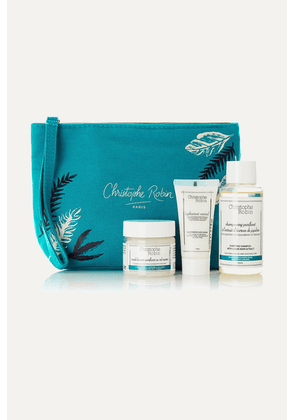 Christophe Robin - Detox Hair Ritual Travel Kit - Colorless