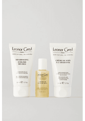 Leonor Greyl Paris - Travel Kit For Volume - Colorless