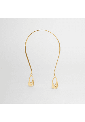 Burberry Ring Detail Gold-plated Hairband