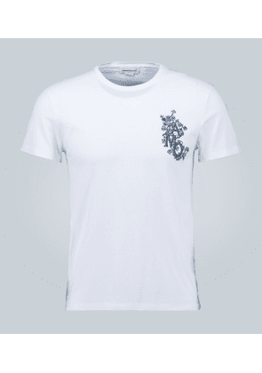 Embroidered AMQ T-shirt